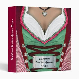 Southern German Recipes Vinyl Binder