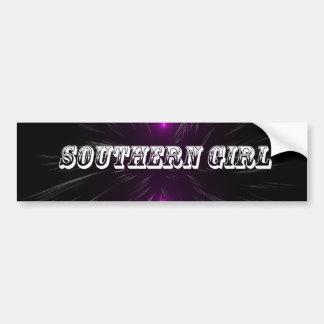 Southern Girl Car Bumper Sticker
