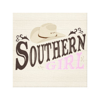 Southern Girl Canvas Print