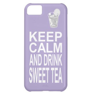 Southern Girl Sweet Tea Keep Calm Parody Case For iPhone 5C