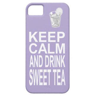 Southern Girl Sweet Tea Keep Calm Parody iPhone SE/5/5s Case