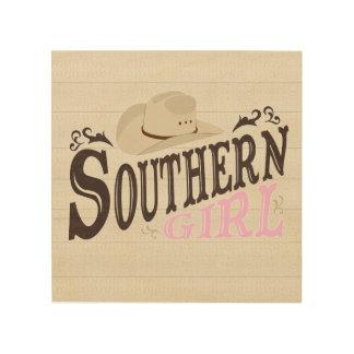 Southern Girl Wood Wall Decor