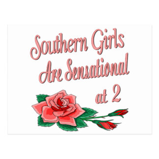 Southern Girls at 2 Postcard
