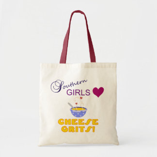 Southern Girls Love Cheese Grits Tote Bag