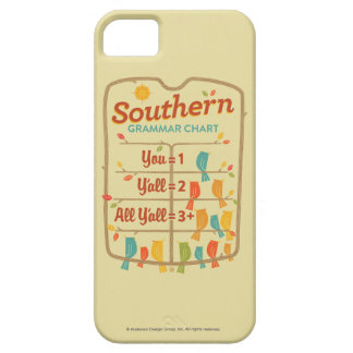 Southern Grammar Chart iPhone SE/5/5s Case