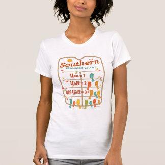 Southern Grammar Chart T-Shirt