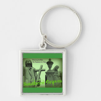 Southern Graves Goes Green Keychain