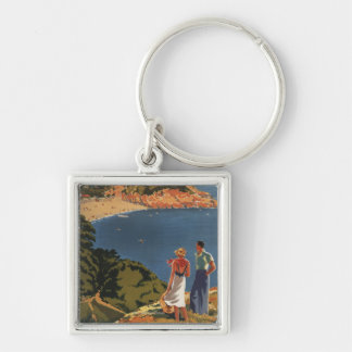 Southern/Great Western Rail Couple on Cliff Keychain
