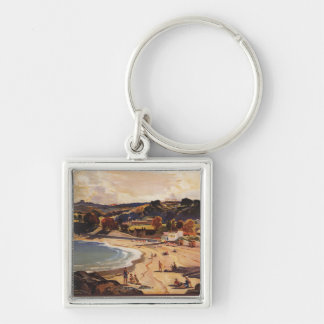 Southern/Great Western Railway Beach Scene Keychain