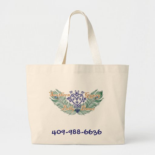 Southern Gypsy Bellydance Jumbo Tote Bag