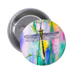Southern Hawker Dragonfly 2 Inch Round Button
