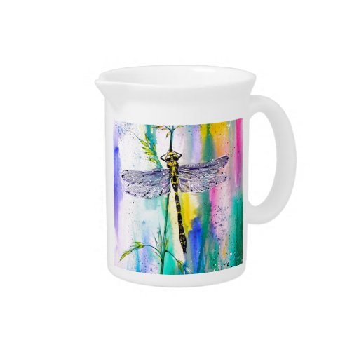 Southern Hawker Dragonfly Beverage Pitchers