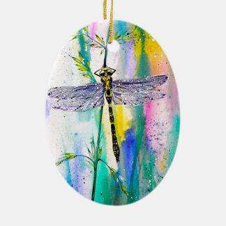 Southern Hawker Dragonfly Ceramic Ornament