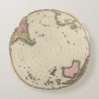 Southern Hemisphere 2 Round Pillow
