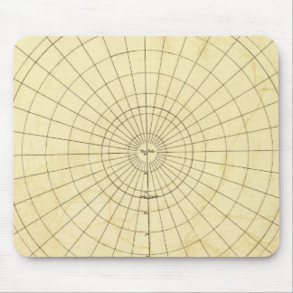 Southern Hemisphere Outline Mouse Pad