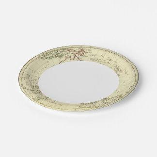 Southern Hemisphere Paper Plate