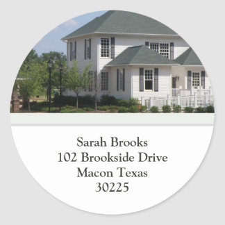 Southern Home Address Stickers