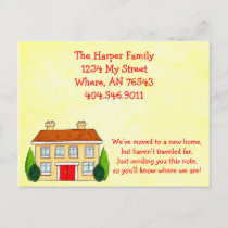 Southern Home Moving New Address Announcement