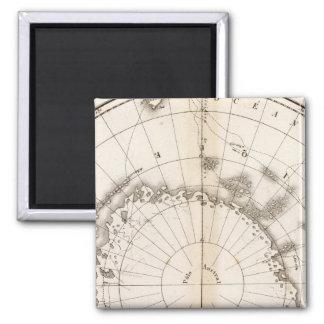 Southern Ice Chart Fridge Magnets