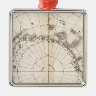 Southern Ice Chart Christmas Tree Ornaments