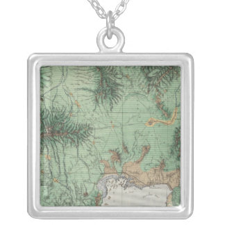 Southern Idaho and Northern Utah 2 Silver Plated Necklace