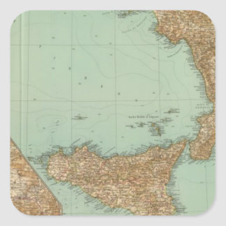 Southern Italy 2729 Square Sticker