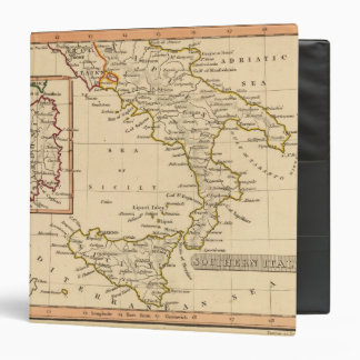 Southern Italy 3 Ring Binder