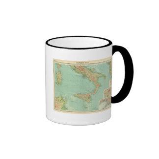 Southern Italy 5 Ringer Coffee Mug
