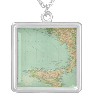 Southern Italy 5 Silver Plated Necklace