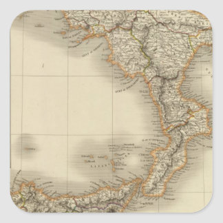 Southern Italy 6 Square Sticker