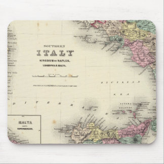 Southern Italy Kingdom Of Naples Mouse Pads