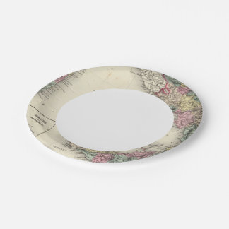 Southern Italy Kingdom Of Naples 7 Inch Paper Plate