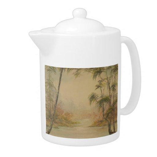 Southern Landscape Teapot