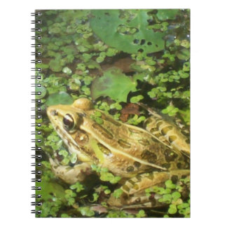 Southern Leopard Frog Spiral Photo Notebook