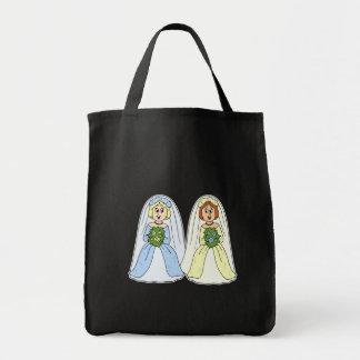 Southern Lesbian Wedding Tote Bag