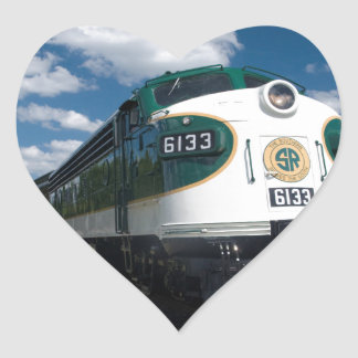 southern loco at station heart sticker