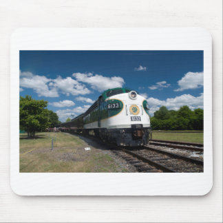 southern loco at station mouse pad