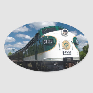 southern loco at station oval sticker