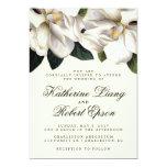 Southern Magnolia Botanical Wedding Invitation