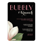 Southern Magnolia Bubbly Brunch | Pink Ivory Black Card