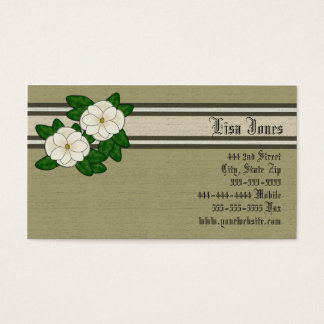 Southern Magnolia Business Cards