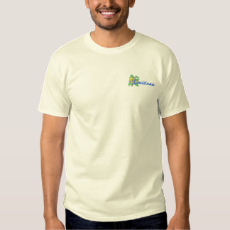 Southern Magnolia Embroidered T-Shirt