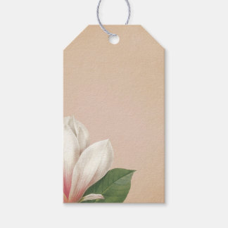 Southern Magnolia Flower | Antique Blush Gift Tags