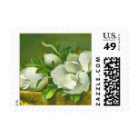 Southern Magnolia Flower Postage Stamps