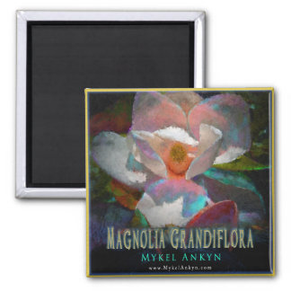 Southern Magnolia Magnet Refrigerator Magnets