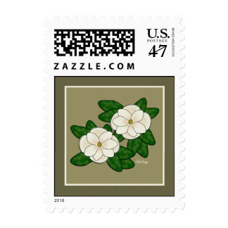 Southern Magnolia Postage Stamps
