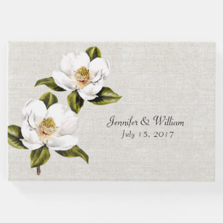 Southern Magnolias Wedding Guest Book