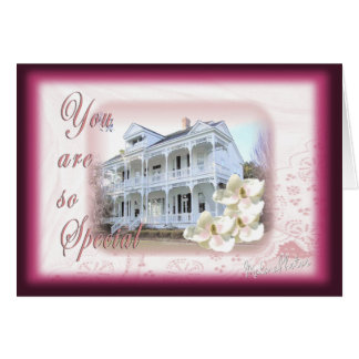 Southern Mansion -customize Card