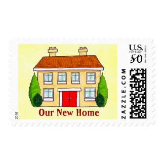 Southern Mansion New Address Stamps