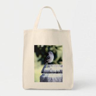 Southern Mockingbird Grocery Bag
